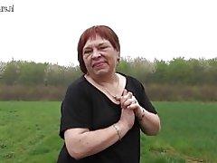 Stará Nadržená babička